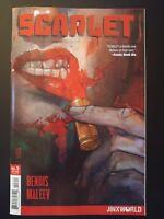 SCARLET #3a Jinxworld (2018 Vertigo DC Comics) VF/NM Book