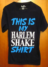 HARLEM SHAKE small T shirt meme tee viral Internet 2013 comedy sketch OG dance