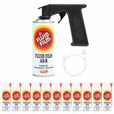 Fluid Film AS-R Korrosionsschutz Kriechöl 400 ml 12er Set + Sonde + Handgriff