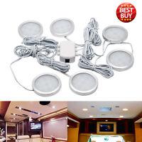 6x 12V Luz Interior LED Foco Lámpara para VW T4 T5 Caravana Van Coche Camión