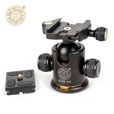 Professional Swivel Camera Tripod Head Fitting 360 degree Panoramic  For Sirui