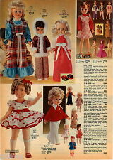 1974 ADVERTISEMENT Doll Ideal Crissy Shirley Temple Mimi Hair Grows Vinyl Rooted