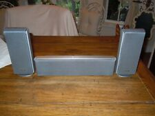 Sony SS-TS20 & CT44 Home Theater Surround Sound 3 Speaker System Center Rear R/L