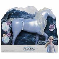"""Disney Frozen 2 Elsa's Spirit Horse, Light-Up & Sounds Water Nokk 15"""" Tall NEW"""