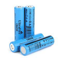 4PCS Ultrafire 18650 Actual Capacity 2200 mAh 3.7V Li-Ion Rechargeable Battery