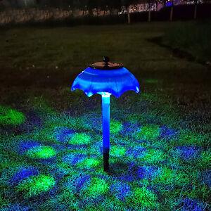 Solar Powere Lantern Light Ground Lamp Landscape Garden Waterproof Lights