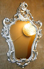 Wall Mirror Silver Baroque Bathroom Floor 50X76