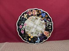 "Tracy Porter Dinnerware Jardiniere Collection Dinner Plate  11"""