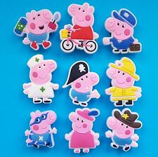 Peppa Pig Cake Decorations Cupcake Toppers Party Favours Piñata Nurse Pirate NEW