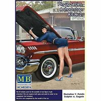 "Masterbox 1:24 Echelle - "" Pin Up Séries, A Court Stop No. 2 MAS24016"