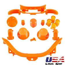 Orange LB RB LT RT Trigger ABXY Buttons Dpad Parts New For Xbox 360 Controller