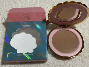 Besame Cosmetics Peter Pan Mermaid Lagoon Golden Sand Bronzer Compact NIB