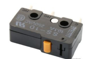 SS-10 - Micro Interrupteur,Subminiature,Broche Plongeur,Spdt ,Souder,10A' GB