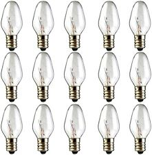 Scentsy Bulb, 15 Pack Light Bulbs for Plug-in Nightlight Warmer Wax Diffuser...