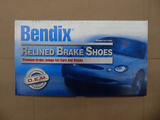 BRAND NEW BENDIX RELINED REAR BRAKE SHOES R756L / 756 FITS 00-01 ALTIMA