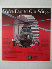 1990-91 PUB ARROW GEAR AEROSPACE INDUSTRY BELL OH-58D COMBAT SCOUT SPUR GEARS AD