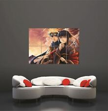 Póster de pared gigante Anime Manga Naruto Art Print Maxi de imagen