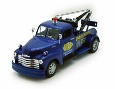 WELLY 22086 1/24 1953 CHEVROLET TOW TRUCK BLUE