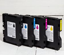 Full Set of OEM Cartridges for Ricoh Aficio SG3110DN/SG7100DN Printer CMYK