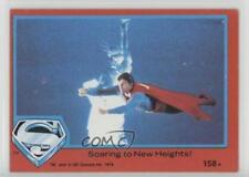1978 Topps Superman The Movie Red #158 Soaring to New Heights! Card d8a