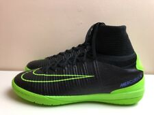 Nike Mercurialx Proximo II IC Indoor Boots UK 11 EUR 46 Black Green 831976 034