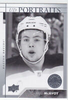 17/18 UD..CHARLIE McAVOY..PORTRAITS..# P-59..BRUINS..FREE COMBINED SHIPPING