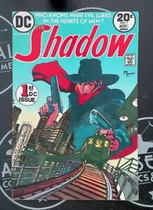 The Shadow 1-12 1973-75 Complete Series DC Comics Bronze Age #1 signed Kaluta