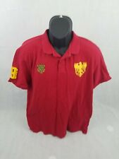 Giordano Polo Mens Short Sleeve 2xl Red tapered fit