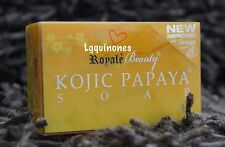 New Improved Royale Beauty KOJIC PAPAYA SOAP with Orange Scent