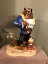 Disney Auctions Big Fig Beauty and the Beast, Lumiere, Cogsworth Figurine Figure