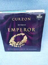 Curzon DECCA LXT 5391 Beethoven Emperor Vienna Philharmonic LP Record
