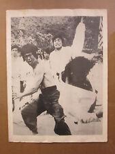 vintage Bruce Lee original black and white Kung Fu poster  9656