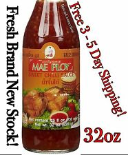 NEW! MAE PLOY Sweet Chili Sauce 32oz ~ Large Size ~ Best By 11/2018