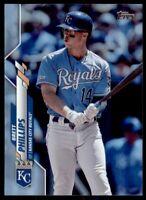 2020 Topps Series 2 Base Rainbow Foil #622 Brett Phillips - Kansas City Royals