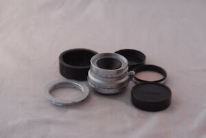 Leica SM Summaron 35mm f/3.5 E39 Filter Ring with LTM Adapter