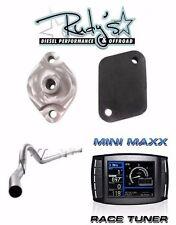 """H&S Mini Maxx 5"""" DPF Delete Exhaust EGT Kit 11-14 Ford 6.7L Powerstroke Diesel"""
