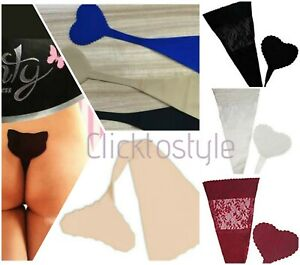 Women Cute Sexy Invisible String Silicon Sticker Panties Ladies Underwear Thong