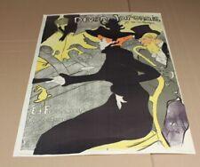Divan Japonais - Toulouse Lautrec Plakat Edition Stedelijk Museum , Amsterdam /H
