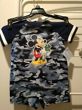 Brand New! Disney Baby Mickey Mouse + Frog, Boys' 3-6 Months 1-Piece Bodysuit!