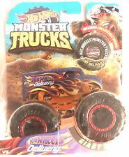 New 2018 Hot Wheels Monster Trucks Hot Wheels Dairy Delivery - Red Beadlocks