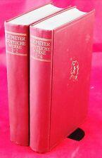 Conrad Ferdinand Meyer - Sämtliche Werke in zwei Bänden - Fraktur