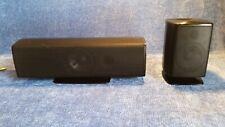 Set of 2 Samsung PS-CZ410 (center), PS-FZ410 (front) Surround Sound Speakers