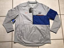 NWT NIKE Florida Gators  GRAY 1/2  Zip Jacket Men' XL