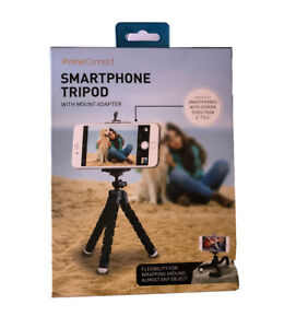 Prime Connect Smartphone Tripod Black With Mount Adapter