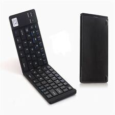 Aluminum Bluetooth V3.0 Keyboard Folding Foldable Android Tablet Phone Portable