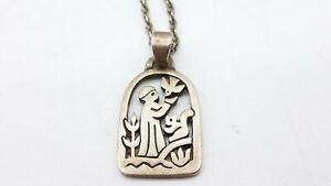 James Avery 925 Silver Pendant Necklace TS612