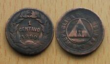 HONDURAS : 1 Centavo 1890 *** Scarce ***