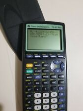 Texas Instruments TI-83 Plus Graphing Calculator. Tested Works Good