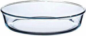 Pyrex baking Dish Glass Round Cake High Heat Resistance Bake & enjoy 26cm, 2.1L