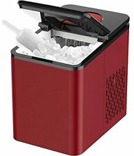 Soopyk Countertop Ice Maker Machine   Portable Ice Makers Cube   9 Ice Cubes Per